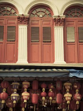 Colonial Shop Houses, China Town, Singapore by Jon Arnold