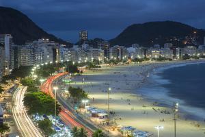 Copacabana Beach, Rio de Janeiro, Brazil by Jon Arnold