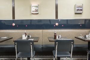Diner in Midtown Manhattan, New York City, New York, USA by Jon Arnold