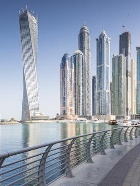 Dubai Marina, Dubai, United Arab Emirates by Jon Arnold