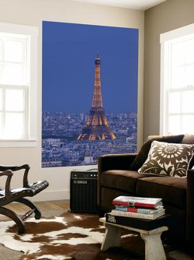 Eiffel Tower and Skyline of Paris, France by Jon Arnold