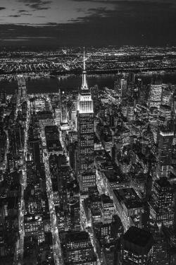 Empire State Building and Manhattan, New York City, New York, USA by Jon Arnold