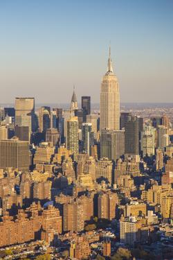 Empire State Building, Manhattan, New York City, New York, USA by Jon Arnold