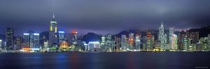 Hong Kong Skyline from Kowloon, China by Jon Arnold