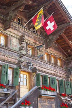 Hotel Baren, Gsteig, Berner Oberland, Switzerland by Jon Arnold