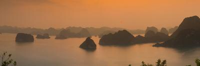 Landscape View over Halong Bay, Vietnam by Jon Arnold