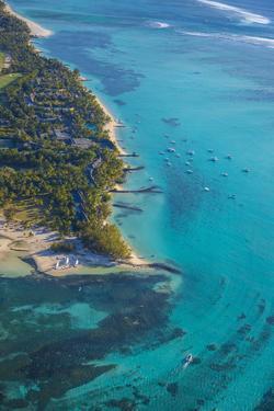 Le Morne Brabant Peninsula, Black River (Riviere Noire), West Coast, Mauritius by Jon Arnold