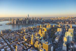 Lower Manhattan from Brooklyn, Manhattan, New York City, New York, USA by Jon Arnold