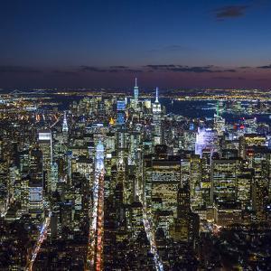 Midtown Manhattan, New York City, New York, USA by Jon Arnold
