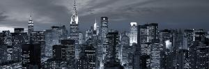 Midtown Skyline with Chrysler Building and Empire State Building, Manhattan, New York City, USA by Jon Arnold