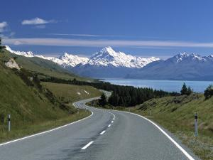 Mt. Cook, Southern Alps, South Island, New Zealand by Jon Arnold