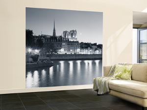 Notre Dame and Ile De La Cite, Paris, France by Jon Arnold