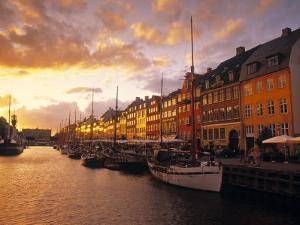 Nyhavn Harbour, Copenhagen, Denmark by Jon Arnold