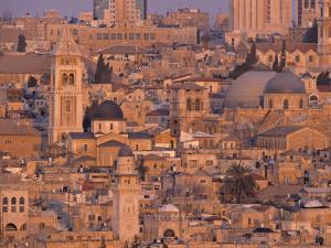 Old City of Jerusalem, Israel by Jon Arnold