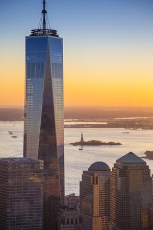One World Trade Center, Lower Manhattan, New York City, New York, USA by Jon Arnold