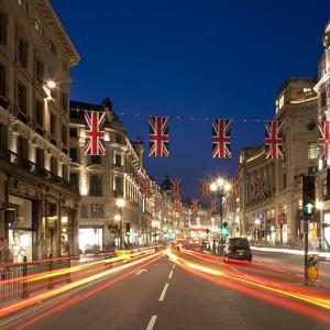 Regent Street, London, England, Uk by Jon Arnold