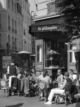 Restaurant/Bistro in the Marais District, Paris, France by Jon Arnold
