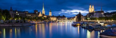 River Limmat, Zurich, Switzerland by Jon Arnold