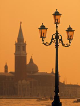 San Giorgio Maggiore, Grand Canal at Sunset, Venice, Italy by Jon Arnold