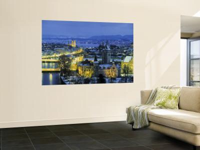 Skyline of Zurich, Switzerland by Jon Arnold