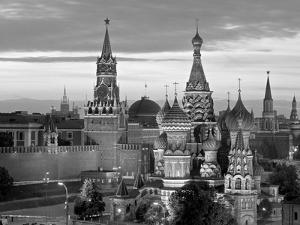 St. Basil's Cathedral, Red Square, Moscow, Russia by Jon Arnold