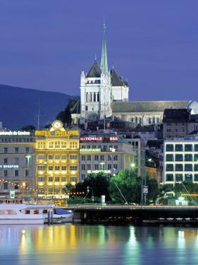 St. Pierre Cathedral, Geneva, Switzerland by Jon Arnold