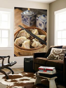 Steamed Dumplings (Steamed Bun or Xiaolongbao), Qibao, Shanghai, China by Jon Arnold