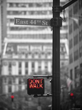 Street Sign, New York City, USA by Jon Arnold