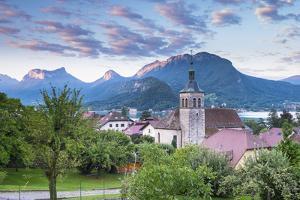 Talloires, Lake Annecy, Haute-Savoie, Rhone-Alpes, France by Jon Arnold