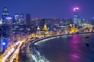 The Bund, Shanghai, China by Jon Arnold