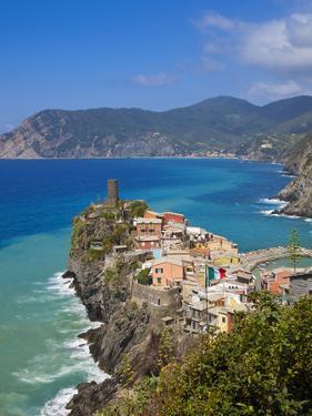 Vernazza, Cinque Terre, Riviera Di Levante, Liguria, Italy by Jon Arnold