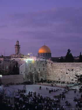 Western Wall, Jerusalem, Israel by Jon Arnold