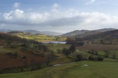 A view of Little Langdale, Lake District National Park, Cumbria, England, United Kingdom, Europe