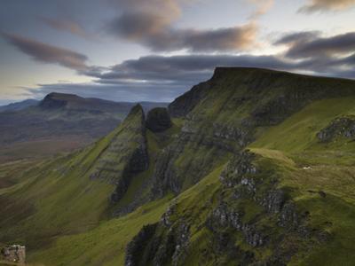 A View Southwards Along the Trotternish Peninsula from the Mountain Bioda Buidhe, Isle of Skye, Inn