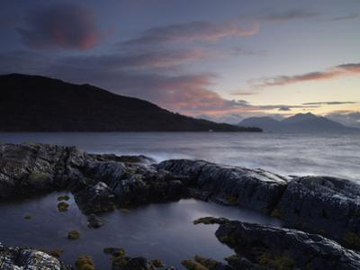 Looking Towards the Scottish Mainland from Loch na Dal, Isle of Skye, Scotland