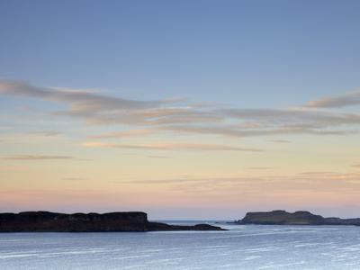 Morning Colours with a View across Loch Bracadale Showing Ardtreck Point and the Island of Oronsay,