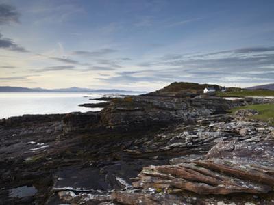 The Beautiful Coastline of the Applecross Peninsula at Ardban, Ross Shire, Scotland, United Kingdom