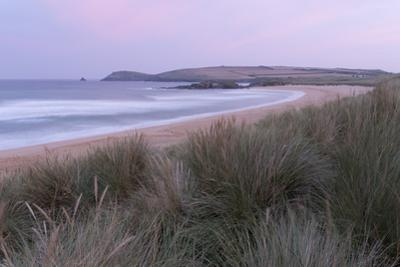 The dunes and beach at Constantine Bay, Cornwall, England, United Kingdom, Europe