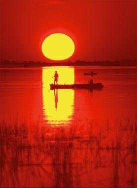 Amber Silhouette by Jon Hart Gardey