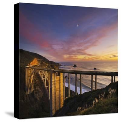 Bixby Bridge at Sunset. by Jon Hicks