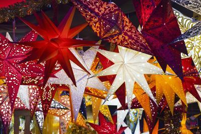 Christmas Lanterns in Market