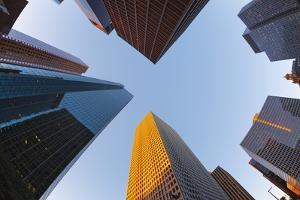 Downtown Houston. by Jon Hicks