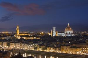 Florence Skyline at Sunset. by Jon Hicks