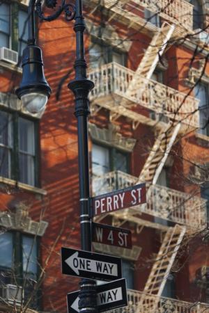 Greenwich Village Street Sign. by Jon Hicks