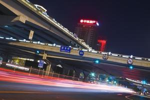 High-Rises and Flyovers in Chaoyang. by Jon Hicks