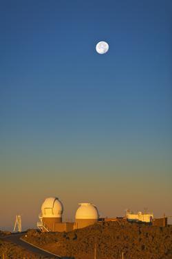 Observatories near Summit of Haleakala by Jon Hicks