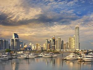 Panama City Skyline. by Jon Hicks