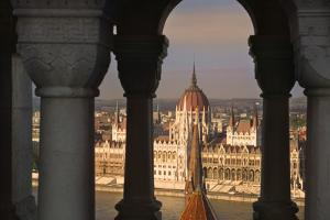 Parliament Building in Budapest by Jon Hicks