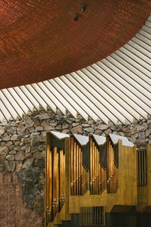 Pipe Organ at Temppeliaukio Church by Jon Hicks