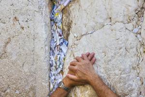 Prayers in the Western Wall by Jon Hicks